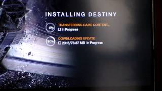 Destiny Xbox One Installation Problems (Wasp Error)