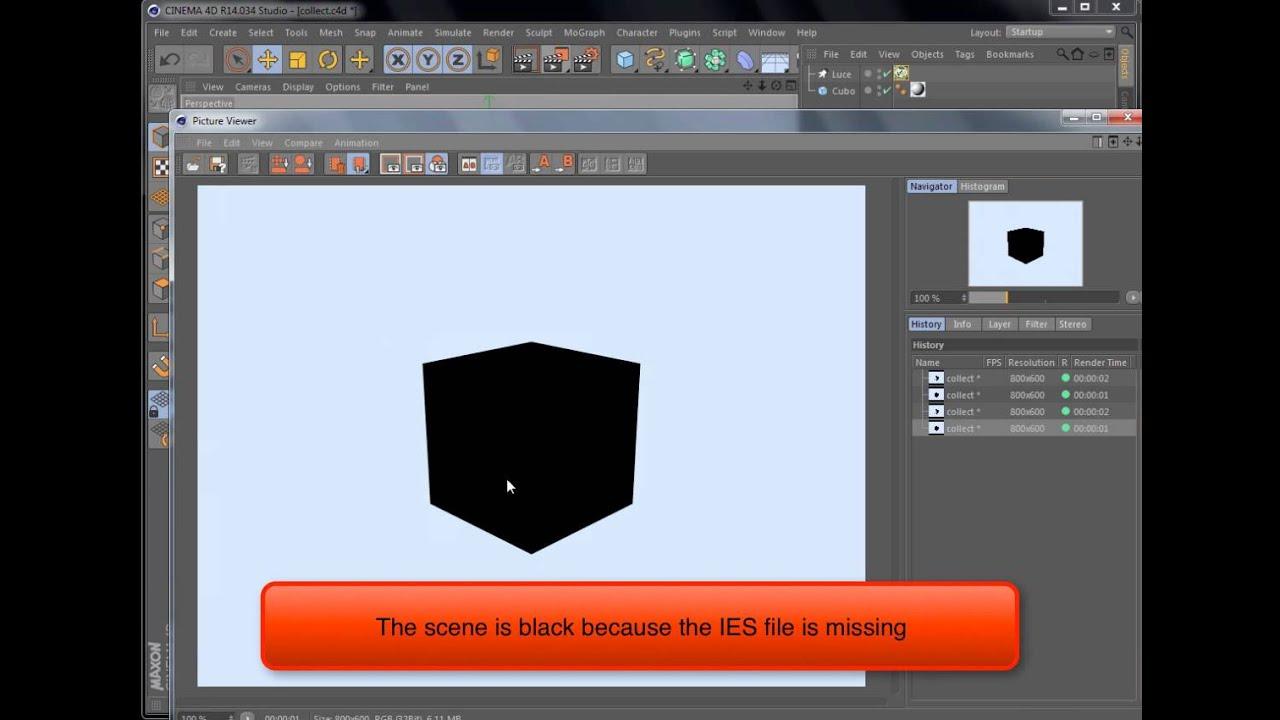C4d lighting plugin free