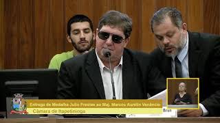 02ª Sessão Solene - Maj.  PM Marcos Aurélio Venâncio 2018