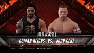 WWE 2K17 PS3 Gameplay - Roman Reigns VS John Cena [60FPS][FullHD]