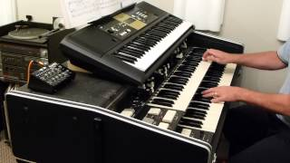 Wonderful Tonight played on Roland VK-9 Combo Organ