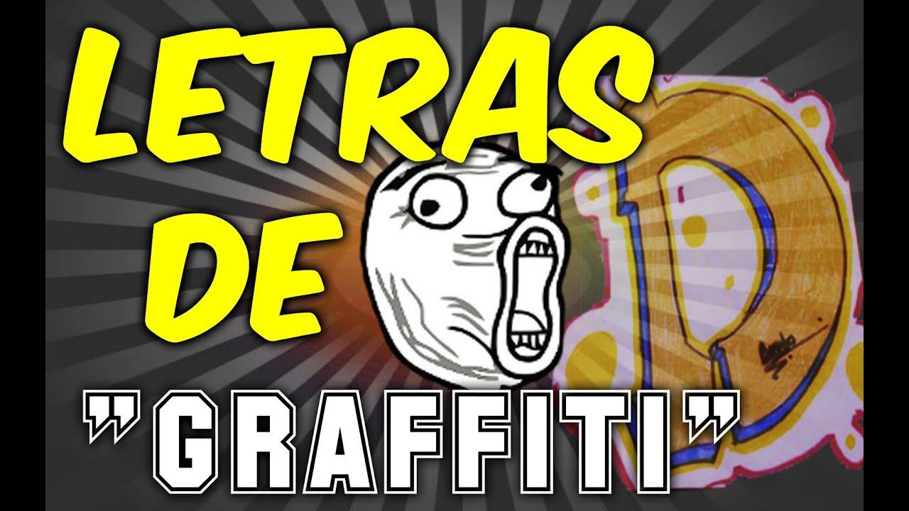 CÓMO DIBUJAR LETRAS DE GRAFFITI / D - YouTube Y Graffiti Letters