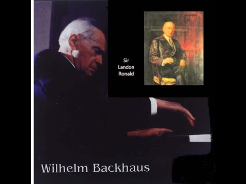 Backhaus Plays Beethoven Concertos#4 in G-Op58&#5 in Eb-Op73-Ronald&Royal Albert Hall Or. circa1927