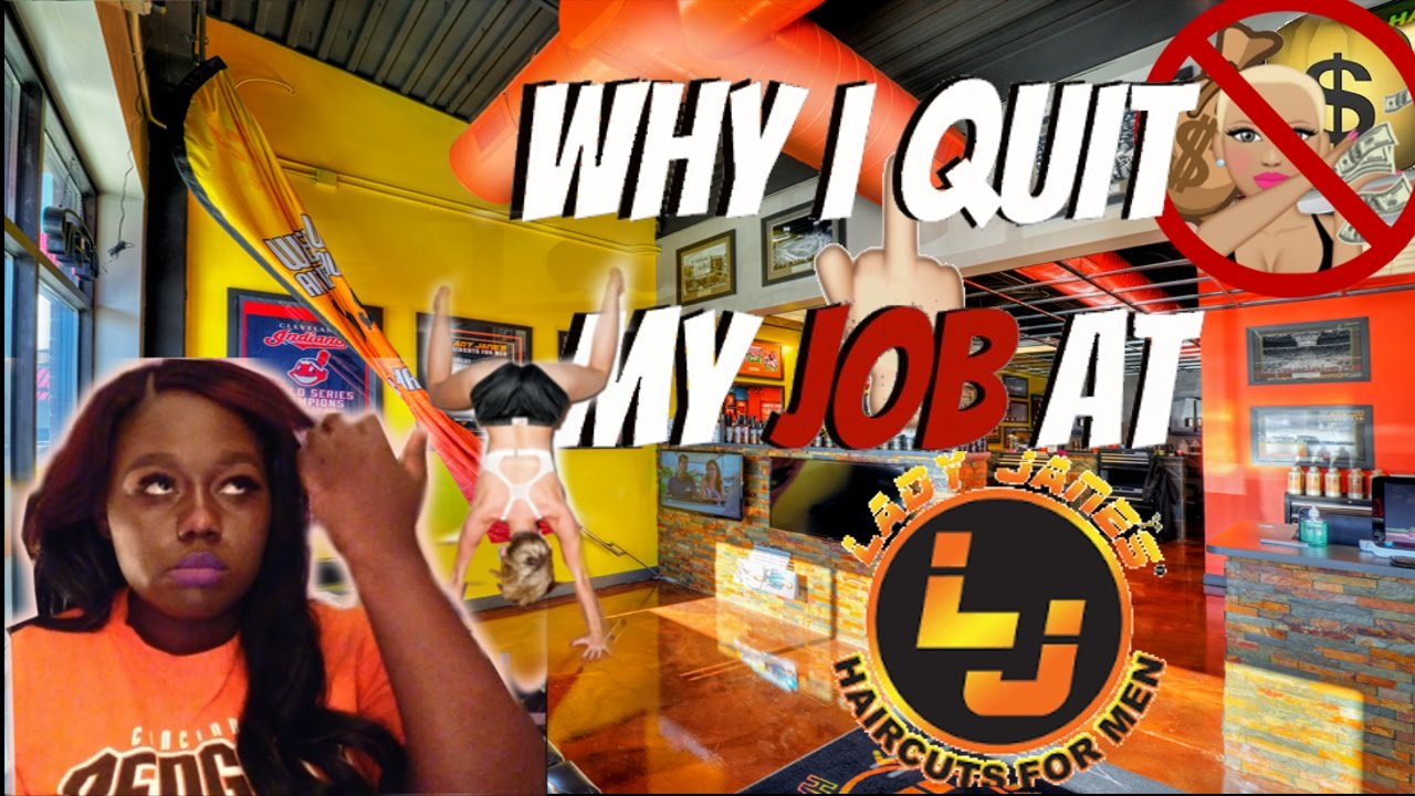 Storytime Why I Quit My Job At Lady Janes Haircuts For Men Youtube