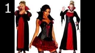 Halloween Fantasia De Vampira Para Mulher Youtube