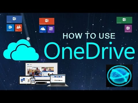 How to use OneDrive