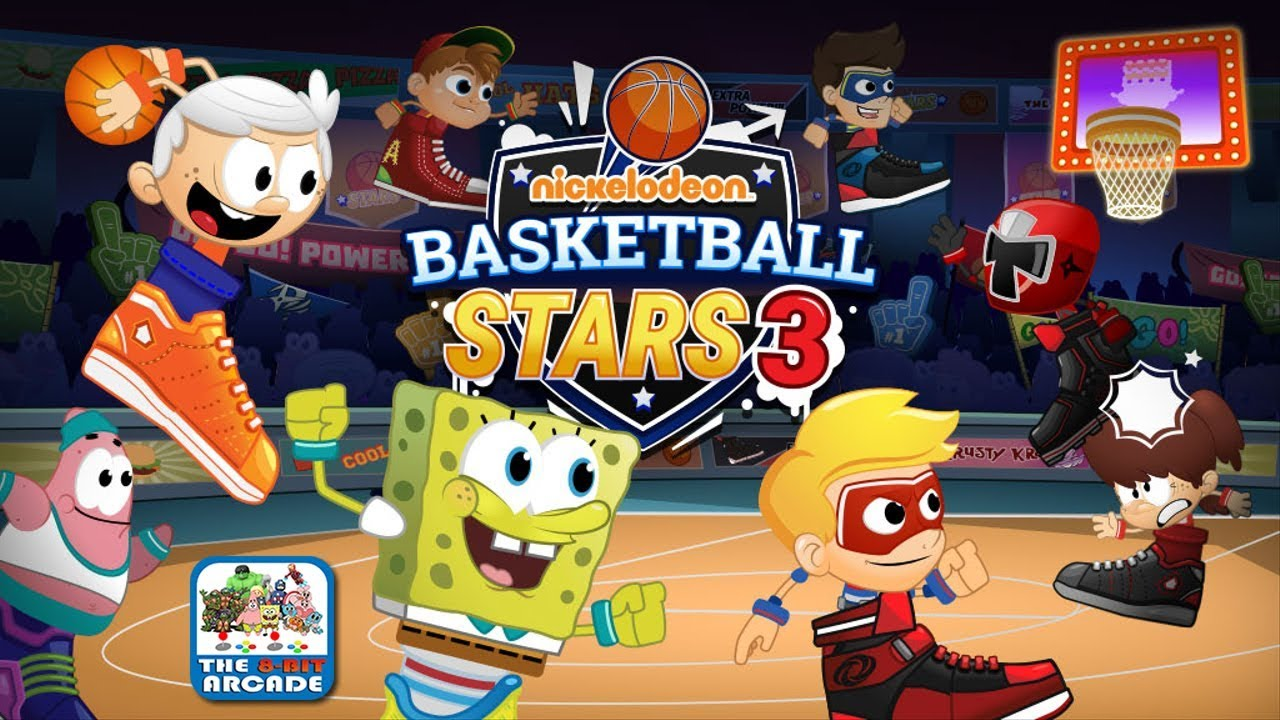 Nickelodeon Basketball Stars 3 - Throw on your Sneaker and Start Dunking!  (Nickelodeon Games)