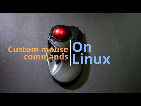 Customizing Mouse Buttons With Linux
