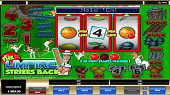 The Umpire Strikes Back ™ free slots machine game preview by Slotozilla.com