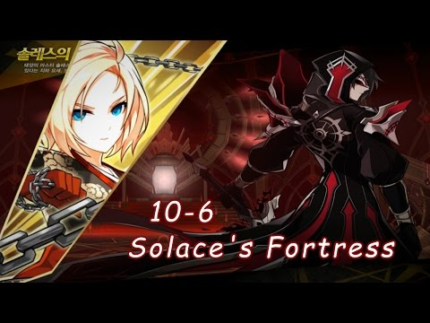 [Elsword] T.Crimson Rose 10-6 Solace's Fortress