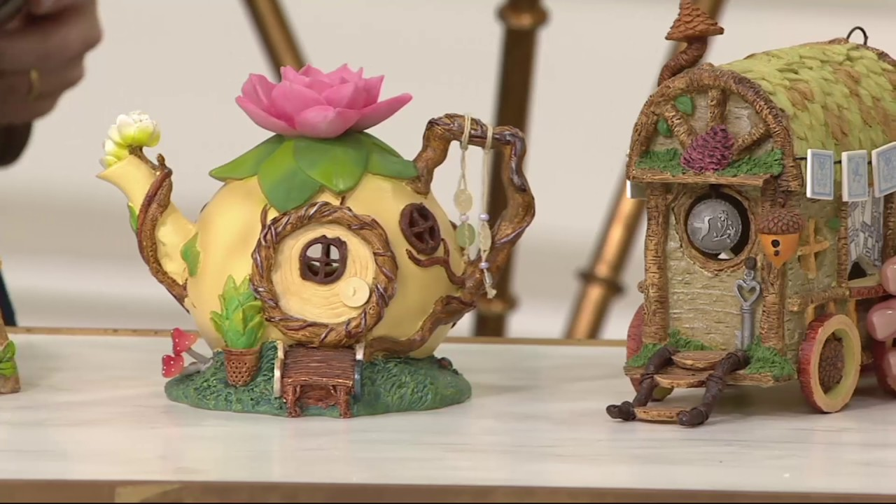 Hallmark Indoor Outdoor Fairy Garden House On Qvc