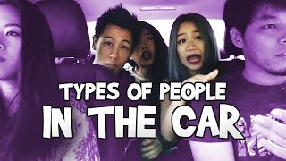 Types Of People In The Car