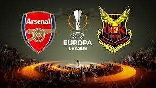 Arsenal vs. Östersunds FK | 22/02/2018 | UEFA Europa League 2017/2018