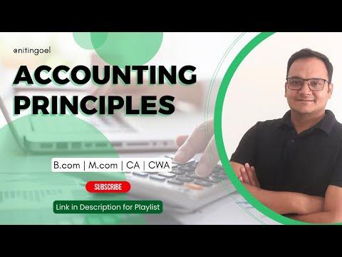 Lesson 2: Accounting Principles