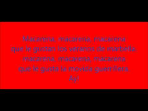 Los del rio - Macarena  hq1080
