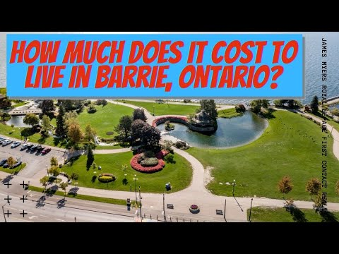 Cost Of Living In Barrie Ontario