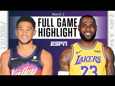 Phoenix Suns vs. Los Angeles Lakers [FULL GAME HIGHLIGHTS] | NBA on ESPN