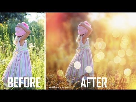 Photoshop Manipulation Tutorials Blue Color