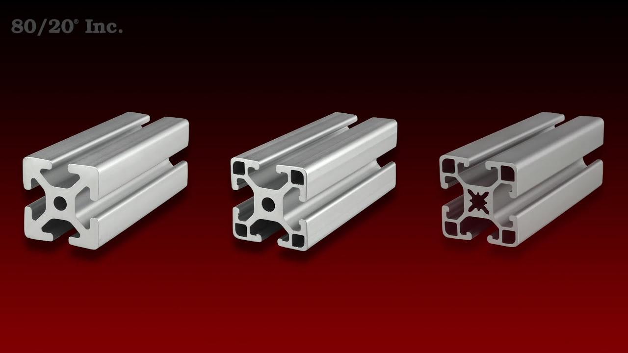 "80//20 Inc 15 Series 1.5"" x 1.5/"" Aluminum Extrusion Part #1515 x 48/"" Long N"