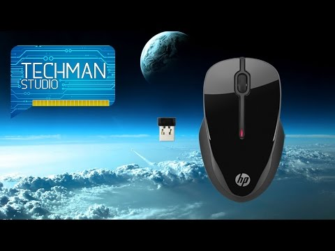 HP X3500 Wireless Comfort Mouse Unboxing