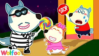 Come Back, Lucy! Don't Go with Strangers - Learn Safety Rules for Kids | Wolfoo Channel Kids Cartoon