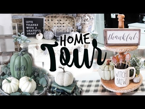 FALL HOME DECOR TOUR 2018 // Fall Decor Ideas + Inspiration