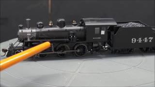 Review: Bachmann HO EZ App Alco 2-6-0 Steam loco