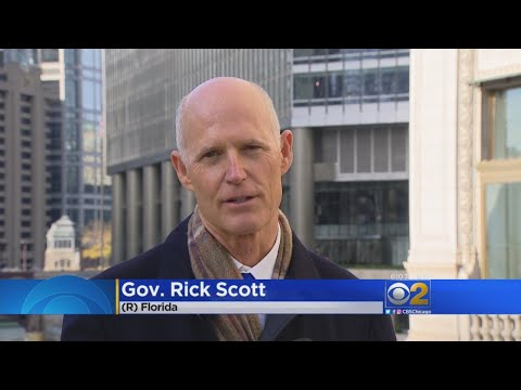 Florida Governor Tries To Poach Jobs From Illinois; 'Your Taxes Are Too High'