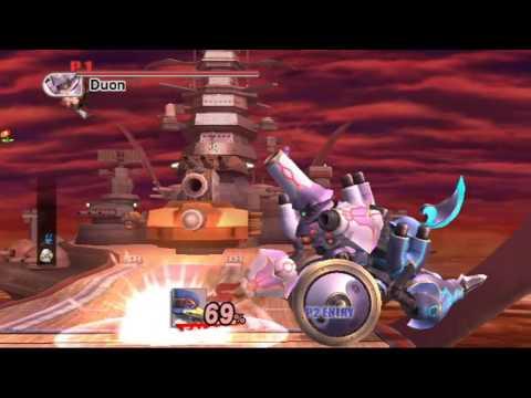 Super Smash Bros. Brawl (The Subspace Emissary) Boss # 17: Duon