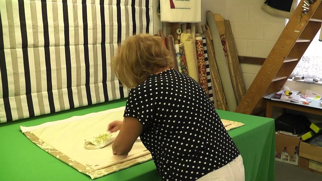 How To Make Lined Curtain Panels How To Make Basic Lined Curtains