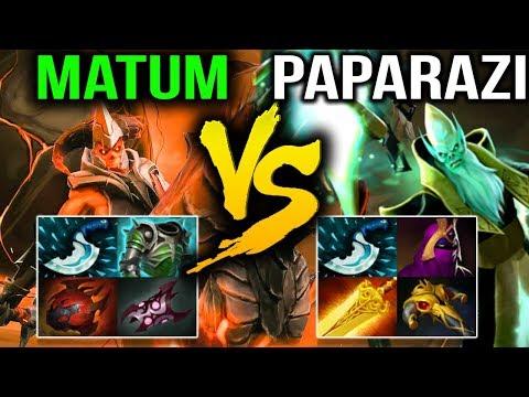 Paparazi VS w33 Matumbaman - 9K VS 9K Strong Comeback Dota 2