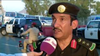 بالفيديو.. تعرف على الخدمات التي يقدمها رجال الأمن للحجاج