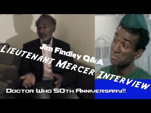 Interview with Doctor Who Actor - Jim Findley!