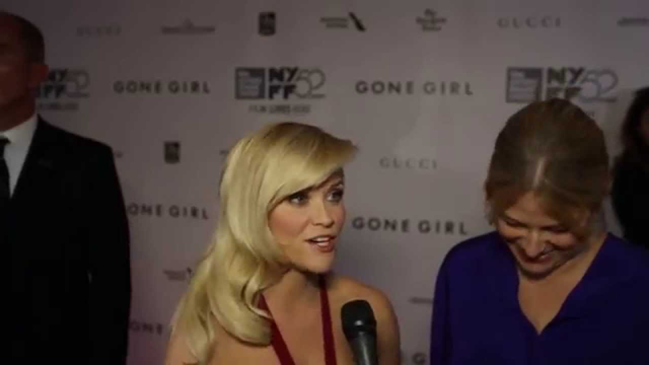 """NYFF52 """"Gone Girl"""" Red Carpet 