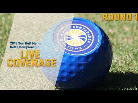 2018 Sun Belt Conference Men's Golf Championship - Day 1 Part 2