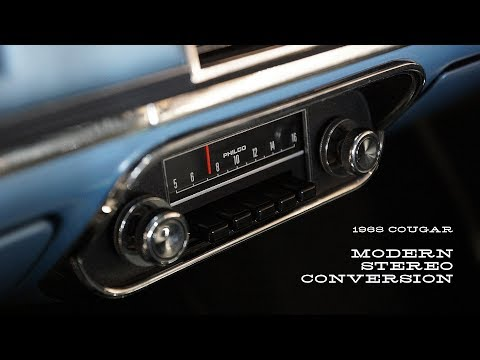 Modern Stereo Conversion In A '68 Cougar