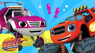 Blaze and The Monster Machines 🚗 'Toy Trouble' New Episode Scene | Nick Jr.