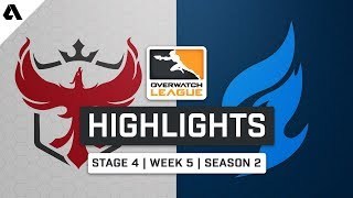 Atlanta Reign vs Dallas Fuel | Stage 4 Week 5 Day 1 - Overwatch League S2 Highlights