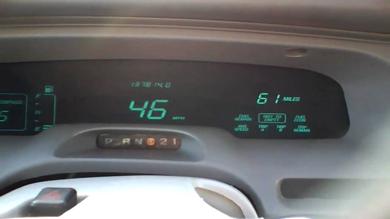 1996 Lincoln Town Car 0 80 New Mass Airflow Youtube