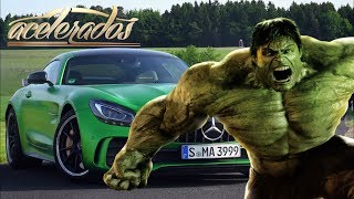 DOMANDO O INCRÍVEL HULK: MERCEDES-AMG GT R! - ESPECIAL #135 | ACELERADOS