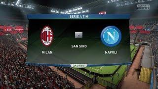 SERIE A: MILAN-NAPOLI fifa19