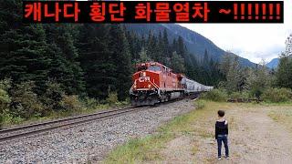 캐나다 횡단 화물열차