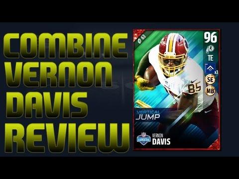 Is Combine Vernon Davis worth a sport on your team? Madden 17 NFL Combine Vernon Davis Player Review