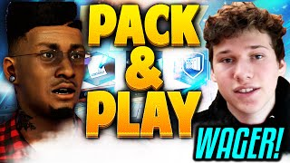 SAPPHIRE LEBRON JAMES WAGER | PACK & PLAY VS JESSER | NBA 2k17…