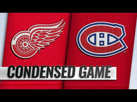 03/12/19 Condensed Game: Red Wings @ Canadiens