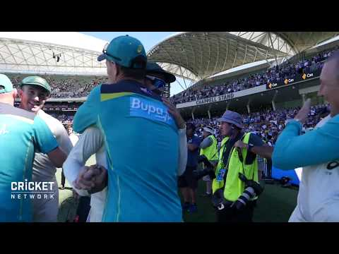 RAW VISION: Australia celebrate in Adelaide