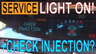 SERVICE LIGHT ON? Reset 'CHECK INJECTION' Warning! Replace Glow Plugs on Renault Scenic