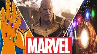 Infinity Stones Evolution in Movies,Cartoons and Games (2019)