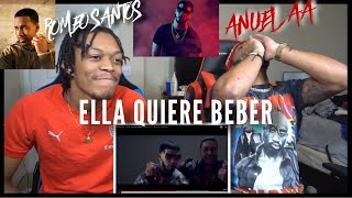 Anuel AA - Ella Quiere Beber (Remix) ft. Romeo Santos | FVO Reaction