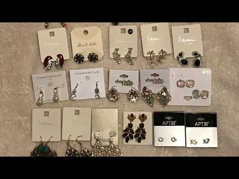 My Favorite 25 Earrings Collection || Latest Fashion Earrings || Sterling Silver